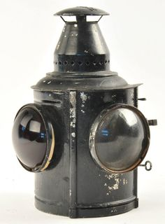 Adlake Railroad Handcar Classification Lamp : Lot 715