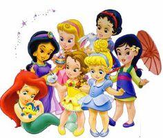 princesas disney bebes buscar con google