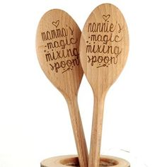 Mother's Day? Personalised Magic Mixing Baking Spoon