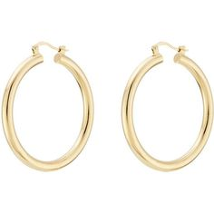 Isabel Marant Hoop Earrings ($73) ❤ liked on Polyvore featuring jewelry, earrings, gold, hoop earrings, gold jewellery, isabel marant, isabel marant jewelry and yellow gold jewelry #GoldJewelleryBling