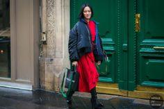 STYLE DU MONDE / Paris Fashion Week Fall 2017 Street Style: Tiffany Hsu  #Fashion, #FashionBlog, #FashionBlogger, #Ootd, #OutfitOfTheDay, #StreetStyle, #Style