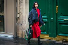 STYLE DU MONDE / Paris Fashion Week Fall 2017 Street Style: Tiffany Hsu  #Fashion, #FashionBlog, #FashionBlogger, #Ootd, #OutfitOfTheDay, #StreetStyle, #Style