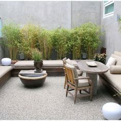 Gravel Patio Design Ideas, Pictures, Remodel, and Decor