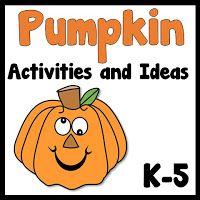 Pumpkin Activities and Ideas