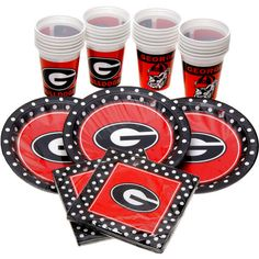Georgia Bulldogs Party Pack for 24 - $23.99