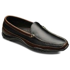 1601b9d9017 Boulder Venetian Loafers 71801 Black Leather with Brown Trim. Get super  saving discounts up to Off at Allen Edmonds with Coupon.