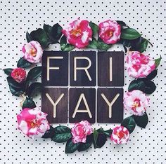 """""""Friyay I'm in love ❤☝ Have a gorgeous day and weekend ladies! ❤ Watch your thoughts for they become words, watch your words for they become actions, watch…"""" Tgif, Can You Feel It, How Are You Feeling, Minion, Salon Quotes, Weekday Quotes, Body Shop At Home, Its Friday Quotes, Friday Memes"""