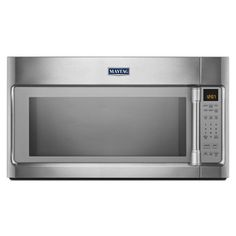 Buy the Maytag Stainless Steel Direct. Shop for the Maytag Stainless Steel 30 Inch Wide Cu. Capacity 1000 Watt Over-the-Range Microwave Oven with 400 CFM Blower and save. Microwave Hood, Otr Microwave, Microwave Convection, Convection Cooking, Nebraska Furniture Mart, Kitchen Appliances, Kitchens, Stainless Steel, Range