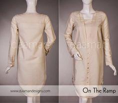 Winter Kurta Designs For Girls By Daaman 2014 & 2015
