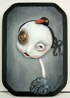 Black Swan by Michele Lynch Art, via Flickr