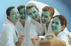 Perfect Bachelorette Celebration Spa and pampering