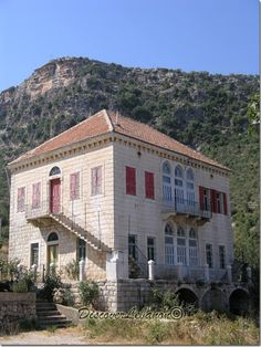 Discover Lebanon Image Gallery / Old houses / Charming House Douma Architecture Plan, Architecture, Building Design, Wellness Design, Architecture Old, Traditional Architecture, Traditional House, Architect, Old Houses