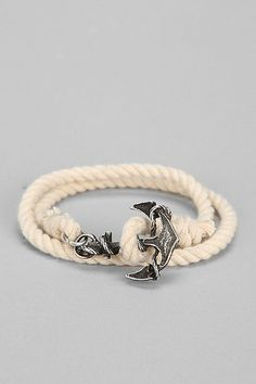 nautical rope bracelet / urban outfitters