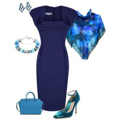 """Shades of blue"" by julietajj on Polyvore"