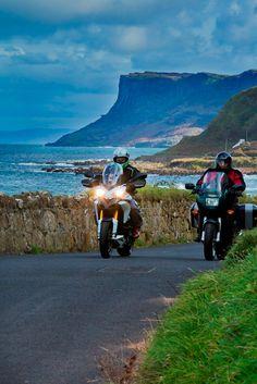 Découvrez l'Irlande en moto Motorcycle, Vehicles, Ireland, Rolling Stock, Motorcycles, Vehicle, Motorbikes, Engine, Tools