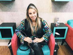 Essa é a primeira vez da empresária Julie Machado no Espaço Dellas e ela adorou nosso ambiente e o resultado na suas unhas. Volte sempre Julie!