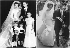 HRH Princess Irene of the Netherlands and HRH Prince Carlos Hugo of Bourbon-Parma April 29, 1964 Rome, Italy