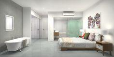 2 bedroom 2 bathroom 1 car terrace house.