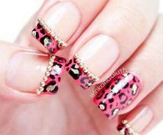 Nails #prom nail art