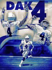 Dallas Cowboys Dak Prescott Dak 4 24x18 Football Poster