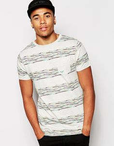 Imagen 1 de Camiseta a rayas de marga de Threadbare