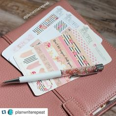 Yay!!! I'm seeing the Villabeautifful #pengems all over! Thank you girls for tagging me!! This lovely photo is from @planwriterepeat. I would love to see your #vbpengem. Sorry the pen is no longer available but I'll have the full set of stickers available on Dec 9th (my birthday)  #Repost @planwriterepeat  My limited edition @villabeautifful_creates Pen Gem is beautiful! It arrived Saturday and I couldn't open it until I caught up with work because of the long weekend. It perfectly matches…