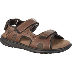 Boca Classics Mens Crew Sandals BROWN
