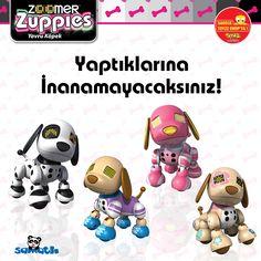 Zoomer' ın sürprizi Yavru Köpek Zuppies #AntalyaMigros Toyzz Shop' ta. Yavru köpek Zuppies müzik çalıyor, sizinle oyunlar oynuyor, birbirinden farklı ve eğlenceli halleriyle aktiviteler yapıyor. Yeni arkadaşınla tanışmaya hazır mısın?