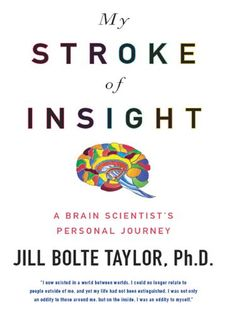 My Stroke of Insight: A Brain Scientist's Personal Journey - by Jill Bolte Taylor. Cap City Moms 5th book Club selection  Dr. Taylor is a MUCH better speaker than writer.  BUT!  It was still an interesting read. 3.75 STARS