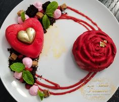 Cupcakes, Cupcake Cakes, Plated Desserts, Panna Cotta, Valentines, Ethnic Recipes, Flowers, Food, Flower Pot Cake