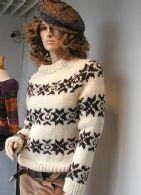 Islandsk Sweater ala Sarah Lund Sweater - Stof og Sy