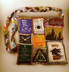 Harry Potter Dementors Kiss Patchwork Tote Bag.