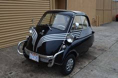 1959 BMW ISETTA 300. This looks like the smart car of today.
