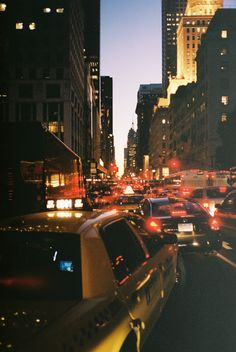 CITY, LIGHTS, DOWNTOWN, TRAFFIC, BUILDINGS, PHOTOGRAPHY, NIGHT
