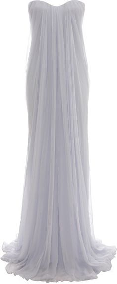 Draped Bustier Gown - Lyst