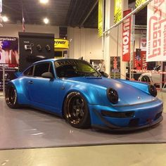 Akira RWB 964 at the Manila Auto Salon 2013.