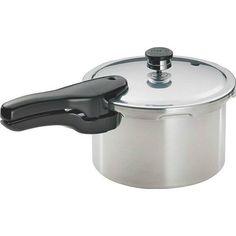 Presto 01241 Pressure Cooker, Aluminum (Silver), 4 Quarts