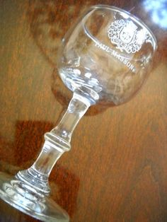 Paul Masson Stemmed Brandy Snifter Wine Glass | eBay