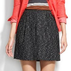 Madewell Tweed Belltoll Skirt