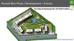 Runwal Bliss Phase I Development – 8 Acres   For Sales & Booking Call +91 91677 42211  To know more visit -http://runwal-bliss.new-launch.info/master-plan/
