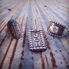 Custom Silo Silver Jewelry How AMAZING is this Kansas Artist...I think she does beautiful work!