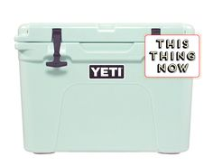 Limited-Edition Seafoam Yeti Cooler @tastingtable #TTWatch