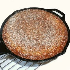 One Perfect Bite: Skillet Sugar Cake