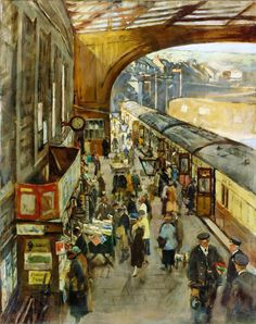 Alexander Forbes Stanhope - The Terminus, Penzance station
