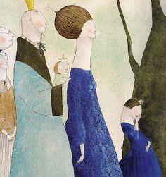 Elena Odriozola Elena Odriozola, Children's Book Illustration, Book Illustrations, Figure Painting, Character Design, Drawings, Artist, Prints, Photograph