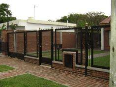 Rejas con Malla: Rejas con Metal Desplegado Gate Design, Ideas Para, Fence, Room, House, Furniture, Outdoors, Home Decor, Iron Doors