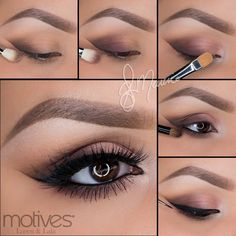 We have the tutorial for you of the previous look by professional makeup artist #ElyMarino so you can recreate the look at home using #MotivesCosmetics. GET THE LOOK ---> http://www.net2cosmetics.com/motives-cosmetics-tutorial-by-ely-marino/