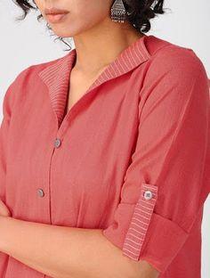 Latest New Kurti Neckline Designs Blouse Back Neck Designs, Neck Designs For Suits, Neckline Designs, Sleeves Designs For Dresses, Simple Kurti Designs, New Kurti Designs, Kurti Designs Party Wear, Churidar Neck Designs, Salwar Designs