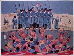Oscar Howe, Wounded Knee Massacre