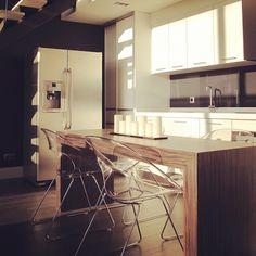 Loft minimalista.
